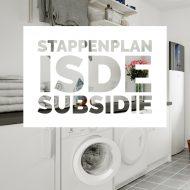 stappenplan isde subsidie